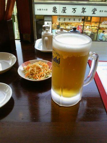 洛餃子ビール.jpg