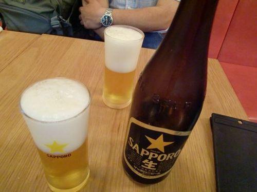 自由が丘餃子センタービール.jpg