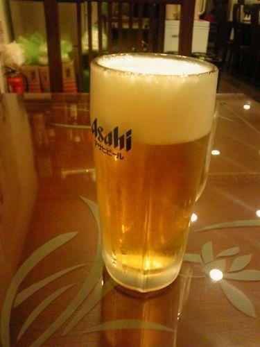 萬福餃子房ビール.jpg