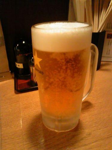 開口餃子ビール.jpg